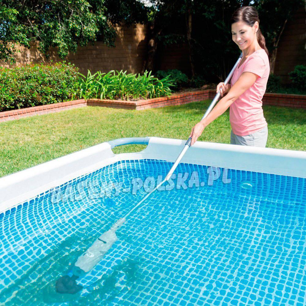Bezprzewodowy odkurzacz do czyszczenia spa i basen w intex baseny ogrodowe intex i bestway - Pompe piscine intex saint etienne ...