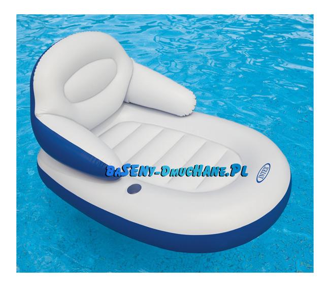b0a14387b68768 Fotel do pływania z oparciem i podłokietnikami 184 x 117 cm - Baseny ...