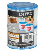 2 x Filtr do SPA typu S1 INTEX 29001 do modelu 28404/28424/28422