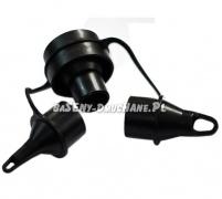 Zestaw 3 końcówki adapter do pompek firmy Intex