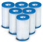 6 x Filtr do pompy komplet Typ A Intex 29000 (1 x karton)