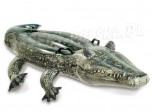Aligator dmuchany krokodyl do pływania 170 x 86 cm INTEX 57551