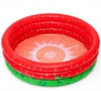 Basen dmuchany 160 x 38cm Bestway 51145 czerwona truskawka