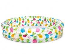 Basen dmuchany dla dzieci 132 x 28 cm Intex 59431 kolorowe ananasy