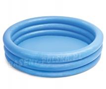 Basen dmuchany dla dzieci Intex 59416 niebieski 114 x 25 cm 156 litrów