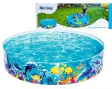 Basen ogrodowy rozporowy rybki 183 x 38 cm Bestway 55030