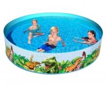 Basen rozporowy dla dzieci Dinozaury 244 x 46 cm 55001 Bestway