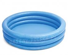 Brodzik dmuchany okrągły basenik niebieski 168 x 41 cm Intex 58446