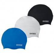 Czepek kąpielowy silikonowy INTEX 55991 do pływania 3 kolory