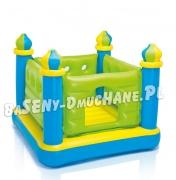 Dmuchana trampolina dla dzieci zamek 132 x 132 x 107cm INTEX 48257