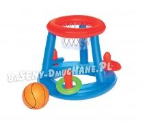 Dmuchane gry obręcze kosz piłka do basenów ogrodowych Bestway 52190