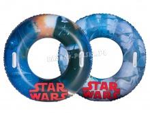 Dmuchane koło do pływania Star Wars 91cm dla dzieci Bestway