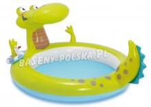 Dmuchany basen 198 x 160 x 91 cm z fontanną Krokodyl INTEX 57431