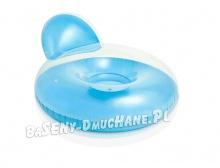 Dmuchany fotel wielofunkcyjny do pływania 137 x 122 cm dwa kolory