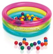 Dmuchany kojec suchy basen z piłkami 86 x 25 cm INTEX