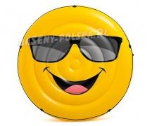 Dmuchany materac Cool Guy wyspa 173 x 27 cm INTEX 57254