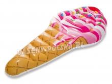 Dmuchany materac plażowy Lód Rożek 224 x 107 cm INTEX 58762