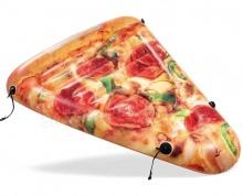 Dmuchany materac plażowy Pizza do pływania 160 x 137 cm INTEX 58752