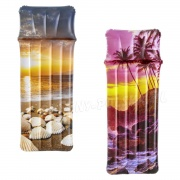 Dmuchany materac plażowy z poduszką 183 x 71 cm Bestway 43416