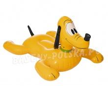 Dmuchany pies Pluto zabawka do pływania 117 x 107 cm Bestway 91074