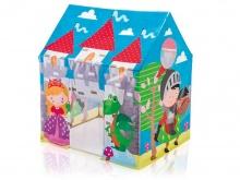 Domek dla dzieci namiot Zamek Księżniczka i Rycerz 95 x 75 x 107 cm Intex