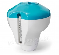 Dozownik do tabletek pływak do basenu z termometrem Intex 29043