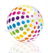 Duża dmuchana piłka plażowa 80 cm dostarczy dużo radości INTEX 59065