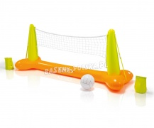 Duża dmuchana siatkówka do basenu + piłka Intex 56508