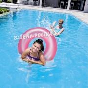 Duże koło do pływania 3 kolory Neon 91cm dla dzieci i dorosłych
