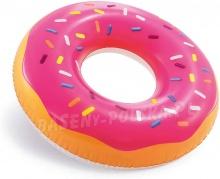 Duże koło do pływania Donut INTEX 56256 pączek dla dorosłych 99cm