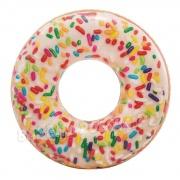 Duże koło do pływania Donut pączek dla dorosłych INTEX 56263
