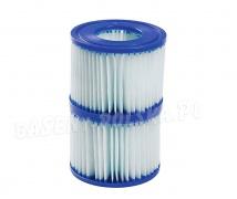 Filtr antybakteryjny typ VI do pompy filtrującej SPA 2 szt. Bestway 58477