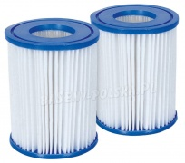 Filtr do pompy filtrującej Typ II komplet 2 sztuki Bestway 58094