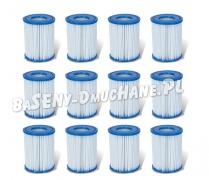 Filtr do pompy filtrującej Typ II zestaw 12 sztuk Bestway 58094