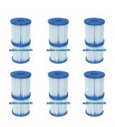 Filtr do pompy filtrującej Typ I komplet 12 sztuk Bestway 58093