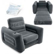 Fotel łóżko jednoosobowe 2w1 INTEX 66551 materac 109 x 218 x 66 cm