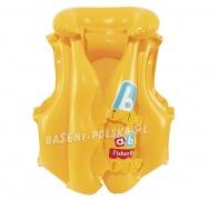 Kamizelka do pływania kapok dla dzieci Fisher Price Bestway 93515
