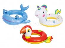 Kółko dla dzieci do pływania wesołe zwierzątka Bestway 36128