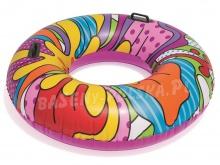 Kółko do pływania Pop Swim z uchwytami średnica 119 cm Bestway 36125