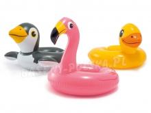 Kółko do pływania Zwierzaki 3 wzory frajda dla Twojego dziecka Intex 59220
