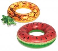 Koło do pływania Ananas albo Arbuz kolorowe wzory Bestway 36121