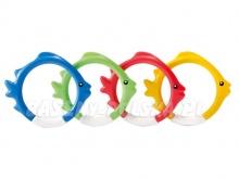Kolorowe rybki opadające na dno zabawka Intex 55507