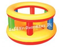 Kolorowy kojec dmuchany dla dzieci 112 x 63 cm Bestway 52187