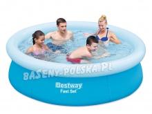 Mały basen rozporowy dla dzieci 198 x 51 cm Bestway 57252