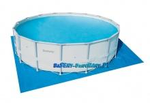 Mata pod basen o wymiarach 520 x 520 cm Bestway 58251
