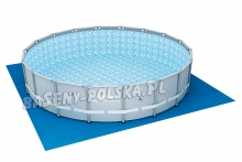 Mata pod basen o wymiarach 579 x 579 cm