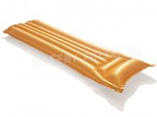 Materac do pływania Bestway 44044 Gold Swim 183 x 69 cm złoty