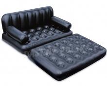 Materac sofa dmuchana 5w1 188 x 152 x 64 cm 75054 Bestway czarna
