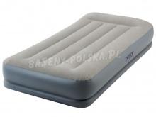 Materac welurowy Pillow Rest z pompką 99 x 191 x 30 cm INTEX 64116