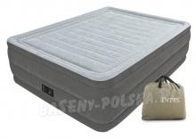 Materac welurowy łóżko z pompką elektryczną 203 x 152 x 56 cm INTEX 64418